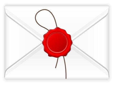 envelope wax stamp
