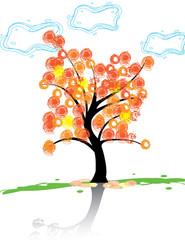 Осенне Дерево