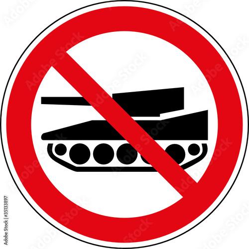 verbotsschild panzer verboten schild zeichen symbol stockfotos und lizenzfreie vektoren auf. Black Bedroom Furniture Sets. Home Design Ideas