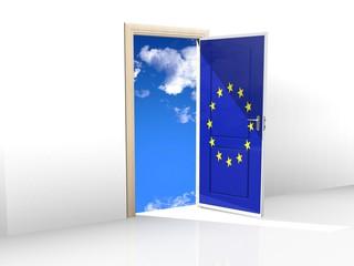 PORTA PER IL CIELO UNIONE EUROPEA