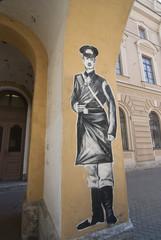 Straßenkunst in St. Petersburg