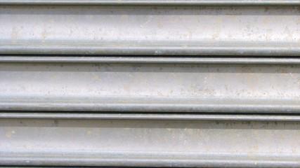 galvanized metal grate