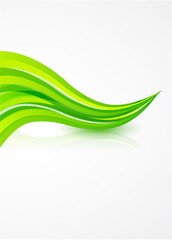 Vector swirl background