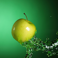 apple in stream