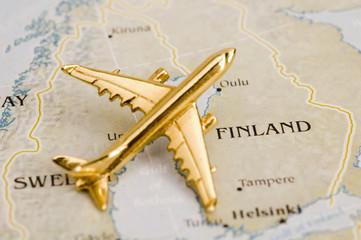 Plane Over Finland