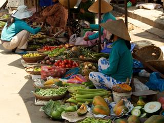 Vietnamese Market in Hoi An, Vietnam