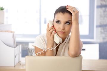 Pretty girl on phone