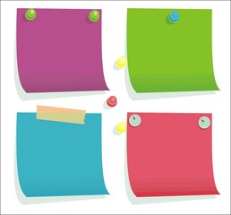 sticker note pads
