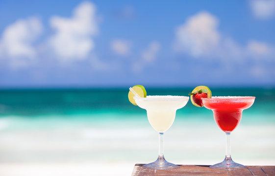 Margarita cocktails