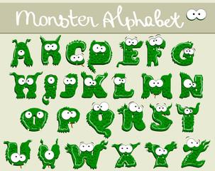 Joyful Cartoon font - from A to Z