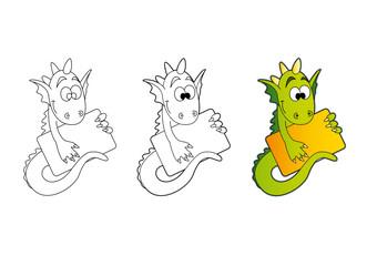 Dragon plaquette