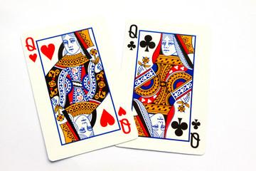 closeup of pokers