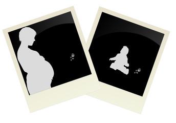 pregnant women and babies in the picture