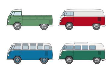 Oldtimer: Kleinbus, Kleintransporter