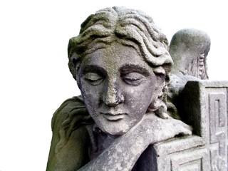 Trauriger Grabmal Engel (Schnitt)