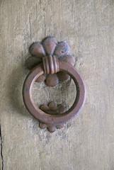 Ravenna, very old door handle.