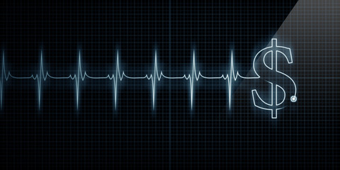 Heartbeat Monitor with Dollar