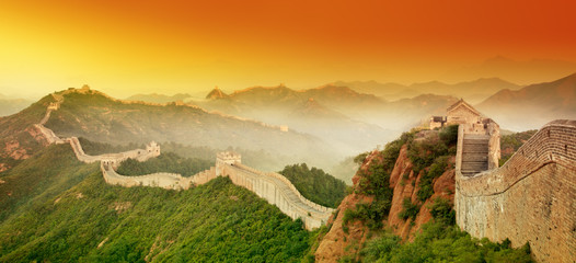 Photo sur Toile Chine Great Wall