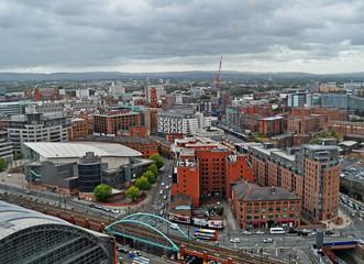 Manchester - UK- Panorama