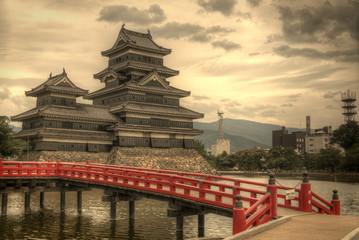 Foto op Aluminium Japan Matsumoto Castle in Matsumoto, Japan