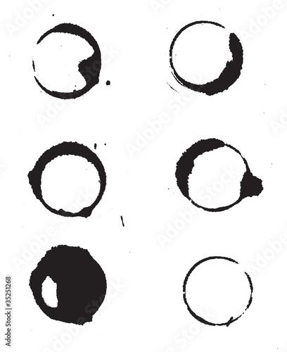 Tache de caf fichier vectoriel libre de droits sur la - Tache de cafe sur tapis ...