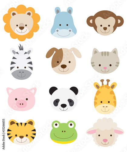 Baby animal Clip Art Vector Graphics 48700 Baby animal