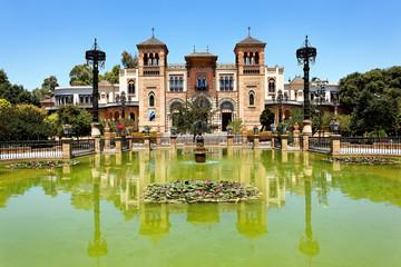 Mudejar Pavillon am Plaza de America, Sevilla, Spanien