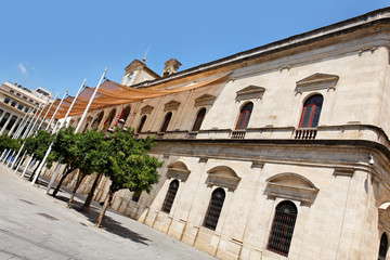 Rathaus von Sevilla, Spanien