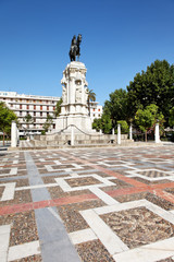 Plaza Nueva in Sevilla, Spanien