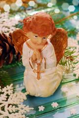 praying angel for christmas