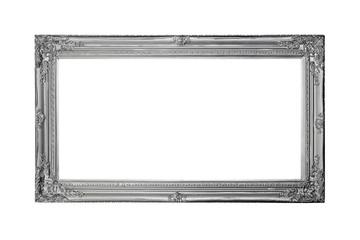 Silver panoramic frame