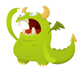 Cartoon Dragon Character