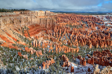Hoodoo in Bryce Canyon in May 2011