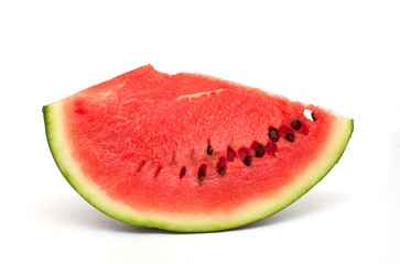 slice of freshly cut watermelon