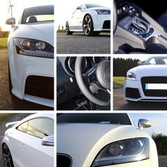 Auto Fahrzeug Automobil Collage 2