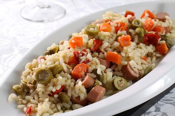 Insalata di riso - Rice Salad