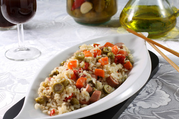 Insalata di riso - Rice Salad