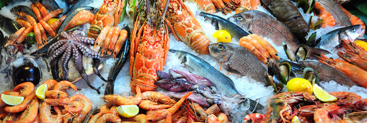Canvas Prints Seafoods Fresh seafood