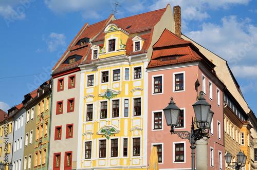 Wall mural Bautzen Bürgerhäuser