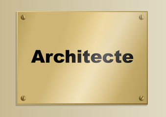 Plaque_Metier_Architecte