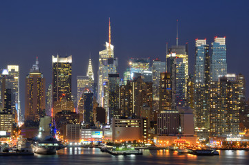Midtown Manhattan in New York City