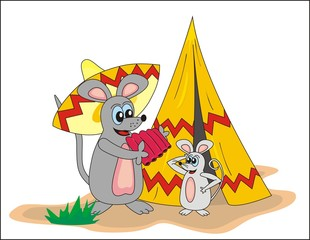 mouse and sombrero