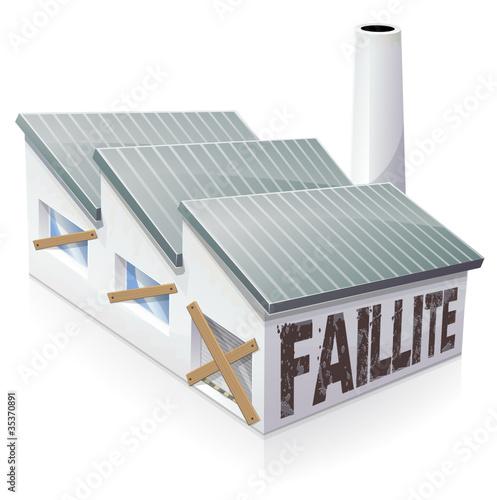 """""""Faillite d'entreprise (reprise)"""" fichier vectoriel libre ..."""