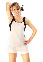 Mädchen beim Fitness