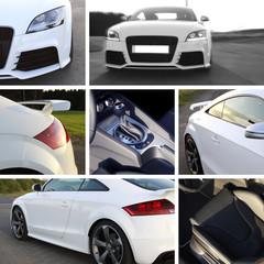 Auto Fahrzeug Automobil Collage 3