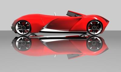 Zelfklevend Fotobehang Snelle auto s sportcar