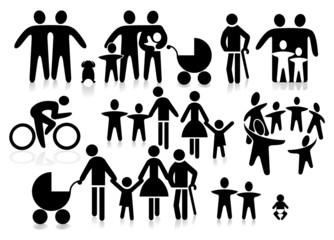 Familien Piktogramm
