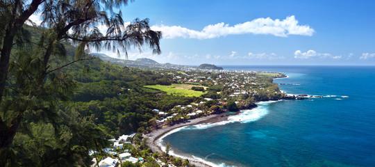 Obraz Plage de Manapany - Ile de La Réunion - fototapety do salonu