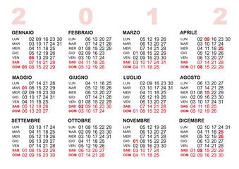 Cerca Calendario.Calendario 2012 Buy This Stock Vector And Explore Similar