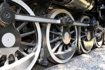 Vintage Locomotive Wheels